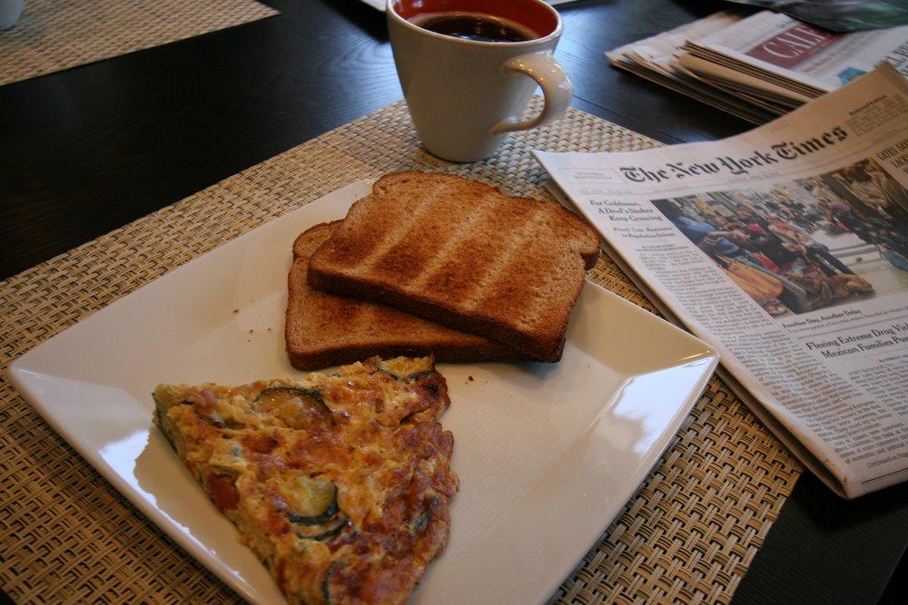 perfect Sunday breakfast